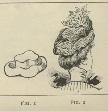 Модные шляпки марта 1900