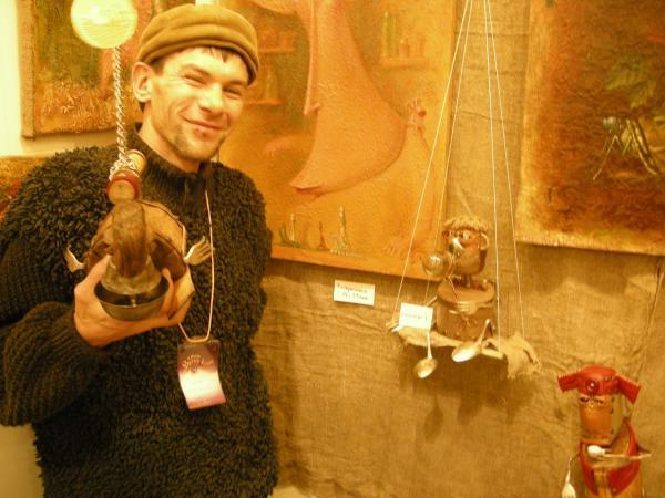 Выставка Авторской Куклы в залах Союза Художников (Петербург) (Фото 9)