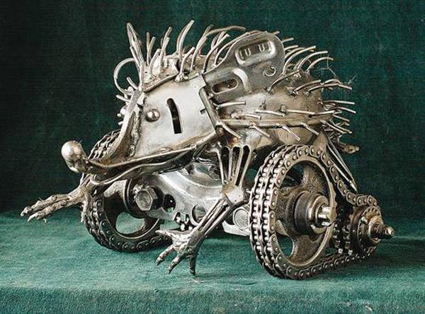 Живой металл Юрия Шурупова. (Фото 4)