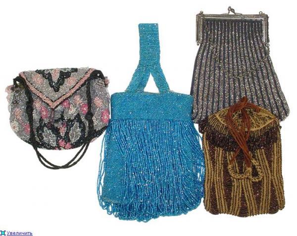 Дамские сумочки в Викторианскую эпоху (Фото 14)