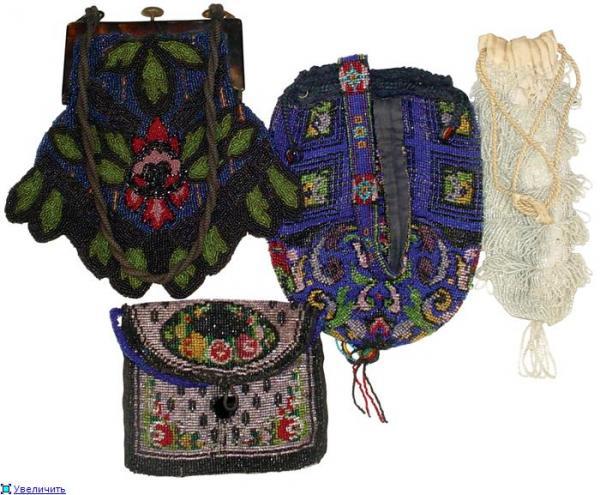 Дамские сумочки в Викторианскую эпоху (Фото 19)