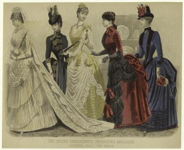 викторианская свадьба (Фото 7)