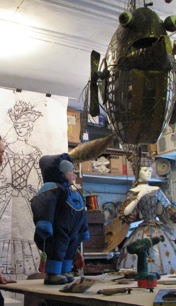 Наша мастерская(просто несколько забавных фото) (Фото 19)