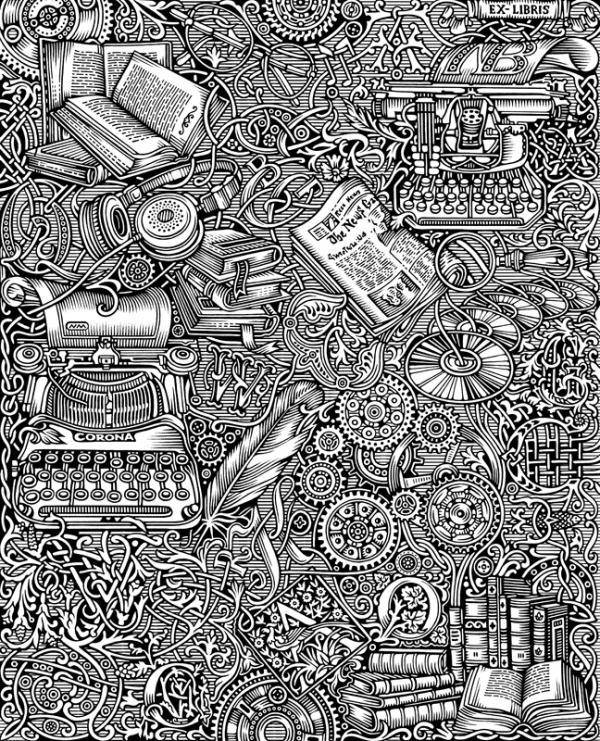 Иллюстраторы студии Артемия Лебедева (Фото 13)