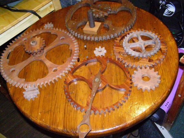 Деревянные шестеренки от Wood Mechanics