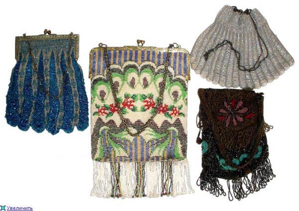 Дамские сумочки в Викторианскую эпоху (Фото 18)