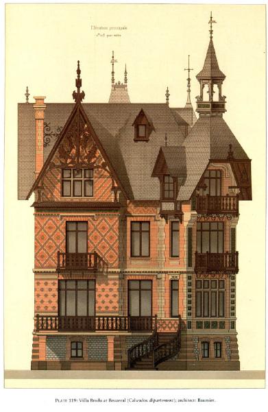 Details of Victorian Architecture. Викторианская архитектура в проектах. (Фото 12)