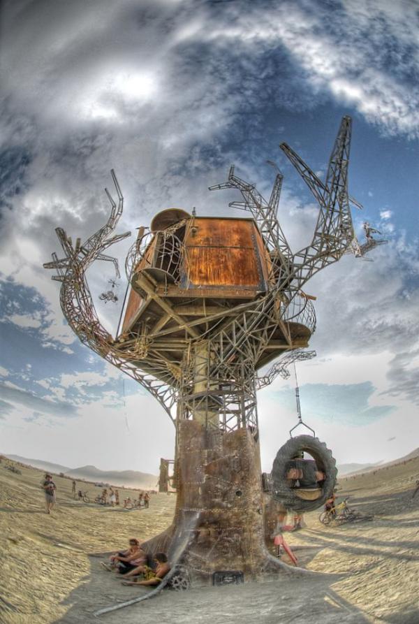 Железное дерево в песках Невады. (Фото 9)