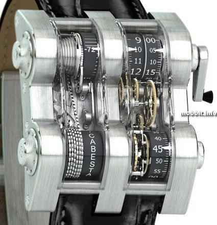 Заводские стимпанк часы (Фото 2)