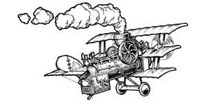 Летающие паровозы.