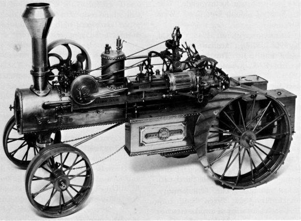 steam трактор