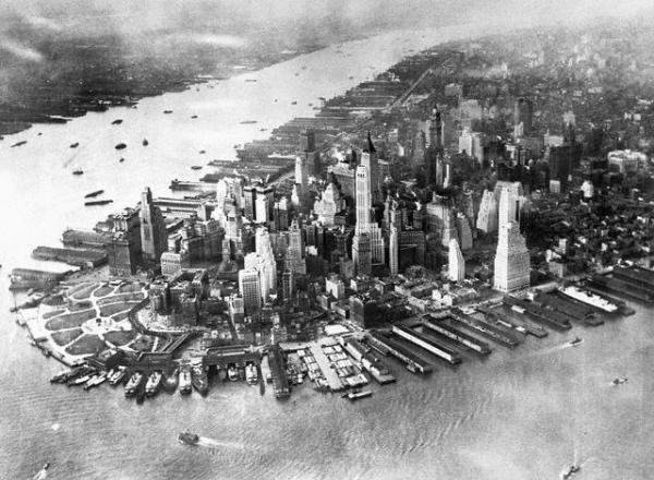 фото Нью-Йорка начала 20го века (Фото 32)