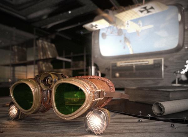 """Гоглы для конкуса  """"Steampunk-Vision 3D"""" (Фото 2)"""