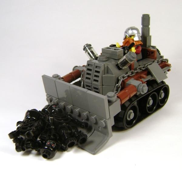 Подборка Lego-конструкций. Часть первая.