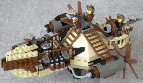 Стимпанк в LEGO исполнении
