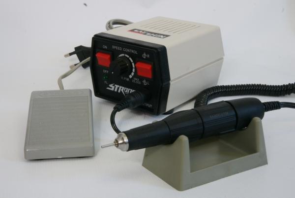 Микромотор с блоком управления