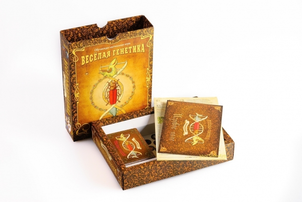 """Аукцион силы - настольная игра """"Весёлая генетика: насекомые"""""""
