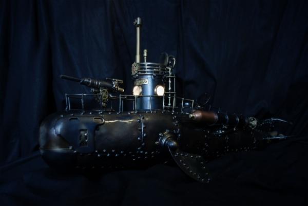Стимпанк-субмарина