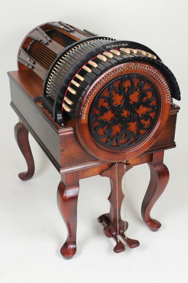 Wheelharp или колесная арфа