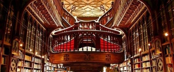 Livraria Lello – прекрасный книжный магазин в Пронто, Португалия