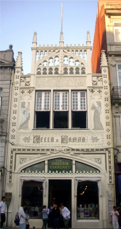 Livraria Lello – прекрасный книжный магазин в Пронто, Португалия (Фото 2)