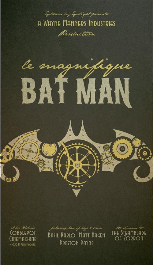 Стимпанк Бэтмэн (Фото 6)