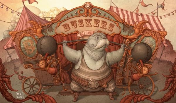 Filedeus Bubastis, сюрреалистический стимпанк