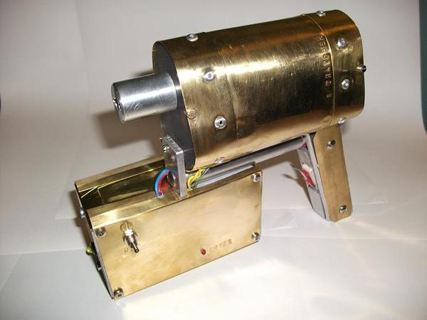 Steampunk coil gun