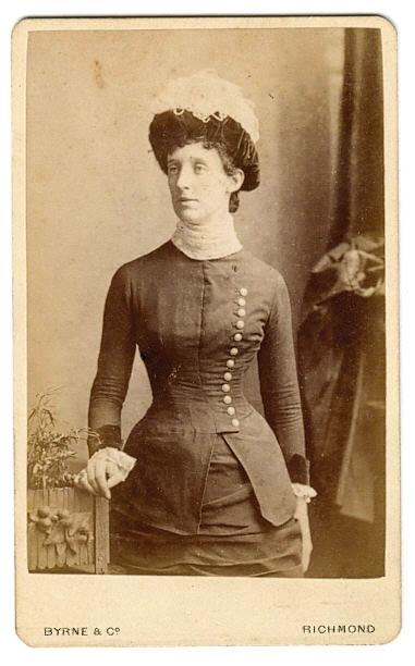 Фото 19 века: дамы. Часть первая (Фото 8)