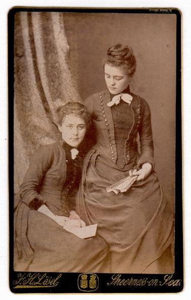 Фото 19 века: дамы. Часть первая (Фото 19)