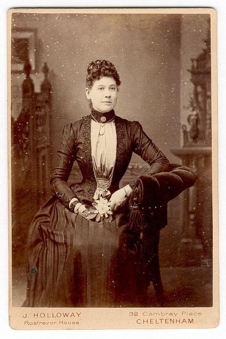 Фото 19 века: дамы. Часть первая (Фото 16)
