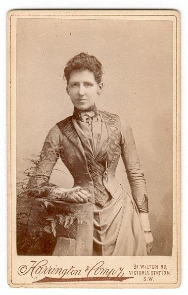 Фото 19 века: дамы. Часть первая (Фото 15)