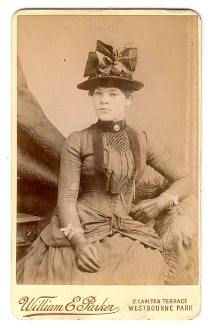 Фото 19 века: дамы. Часть первая (Фото 22)