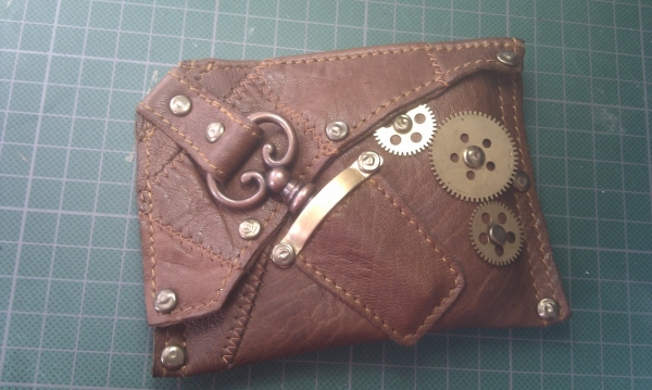 Steampunk wallet v. 2.0 (Фото 12)