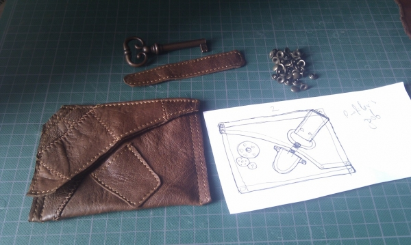 Steampunk wallet v. 2.0 (Фото 7)