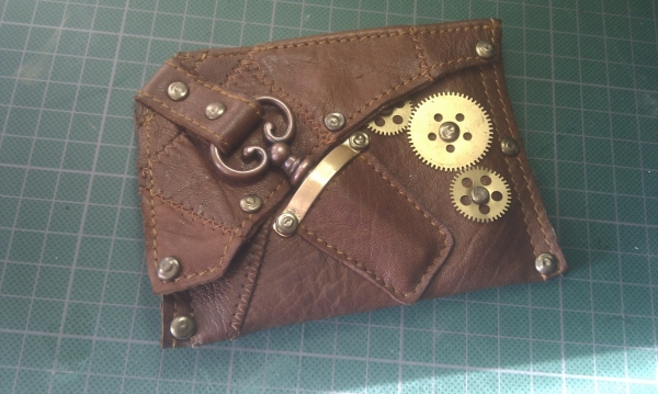 Steampunk wallet v. 2.0 (Фото 14)