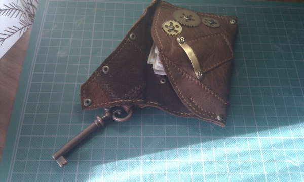 Steampunk wallet v. 2.0 (Фото 13)