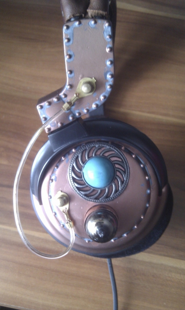 Steampunk headset 3.0 (Фото 8)
