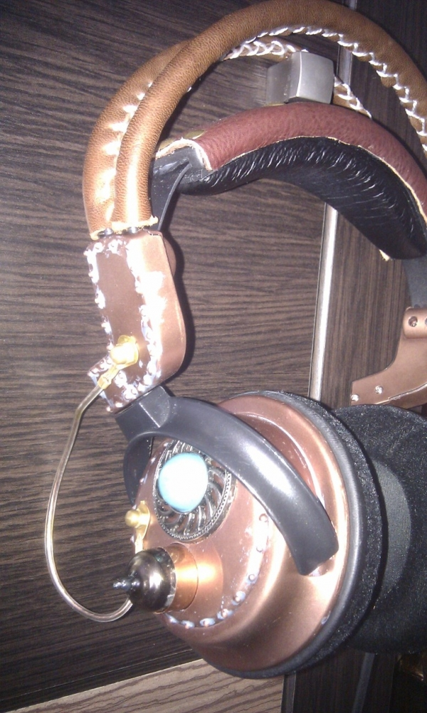 Steampunk headset 3.0 (Фото 5)