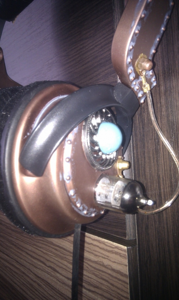 Steampunk headset 3.0 (Фото 4)
