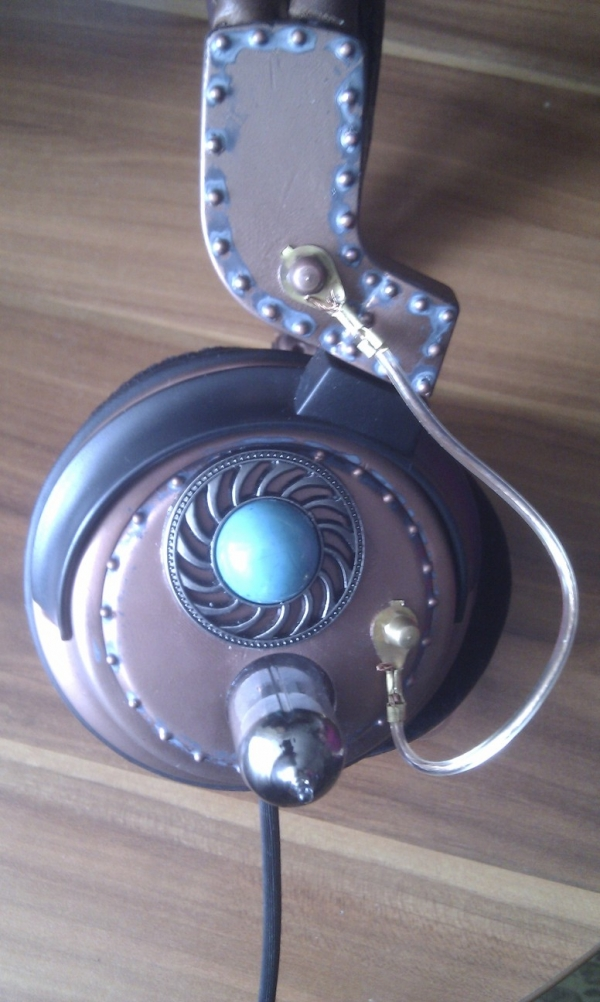 Steampunk headset 3.0 (Фото 9)