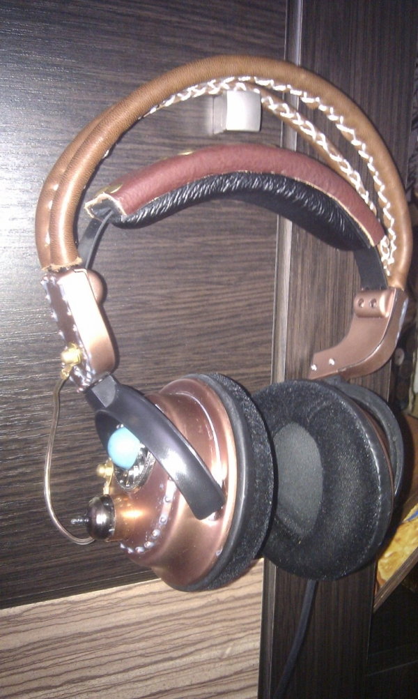 Steampunk headset 3.0 (Фото 3)