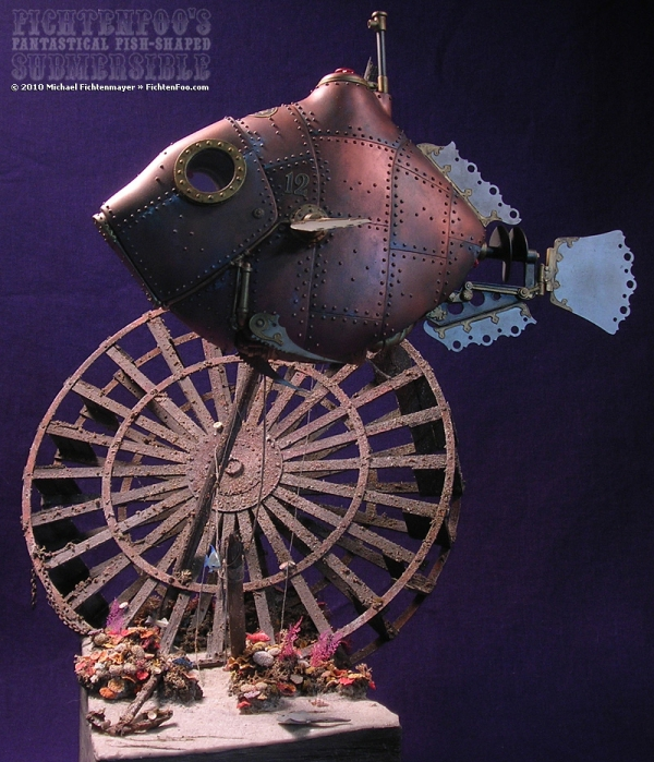 The Fantastical Fish-Shaped Submersible by Michael Fichtenmayer (Фото 2)