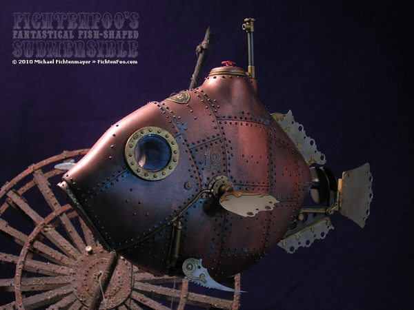 The Fantastical Fish-Shaped Submersible by Michael Fichtenmayer (Фото 5)