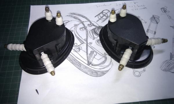 Steampunk Headset v. 4.0 или новая жизнь авиагарнитуры (Фото 13)