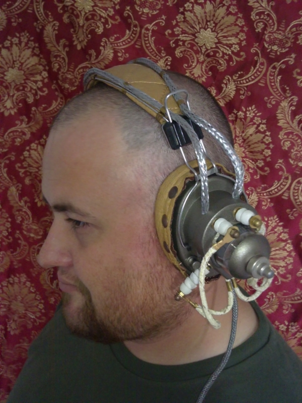 Steampunk Headset v. 4.0 или новая жизнь авиагарнитуры (Фото 27)