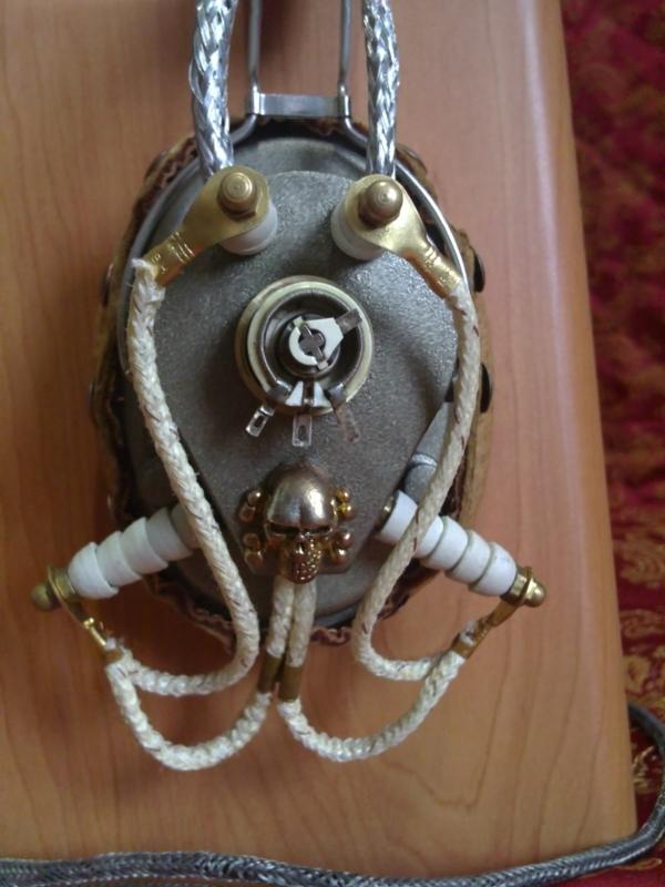 Steampunk Headset v. 4.0 или новая жизнь авиагарнитуры (Фото 20)