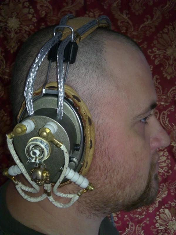 Steampunk Headset v. 4.0 или новая жизнь авиагарнитуры (Фото 26)