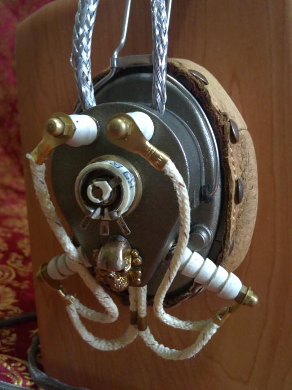 Steampunk Headset v. 4.0 или новая жизнь авиагарнитуры (Фото 21)
