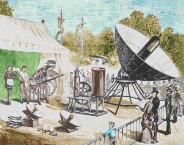 Французский Изобретатель и Первая солнечная батарея (Фото 3)